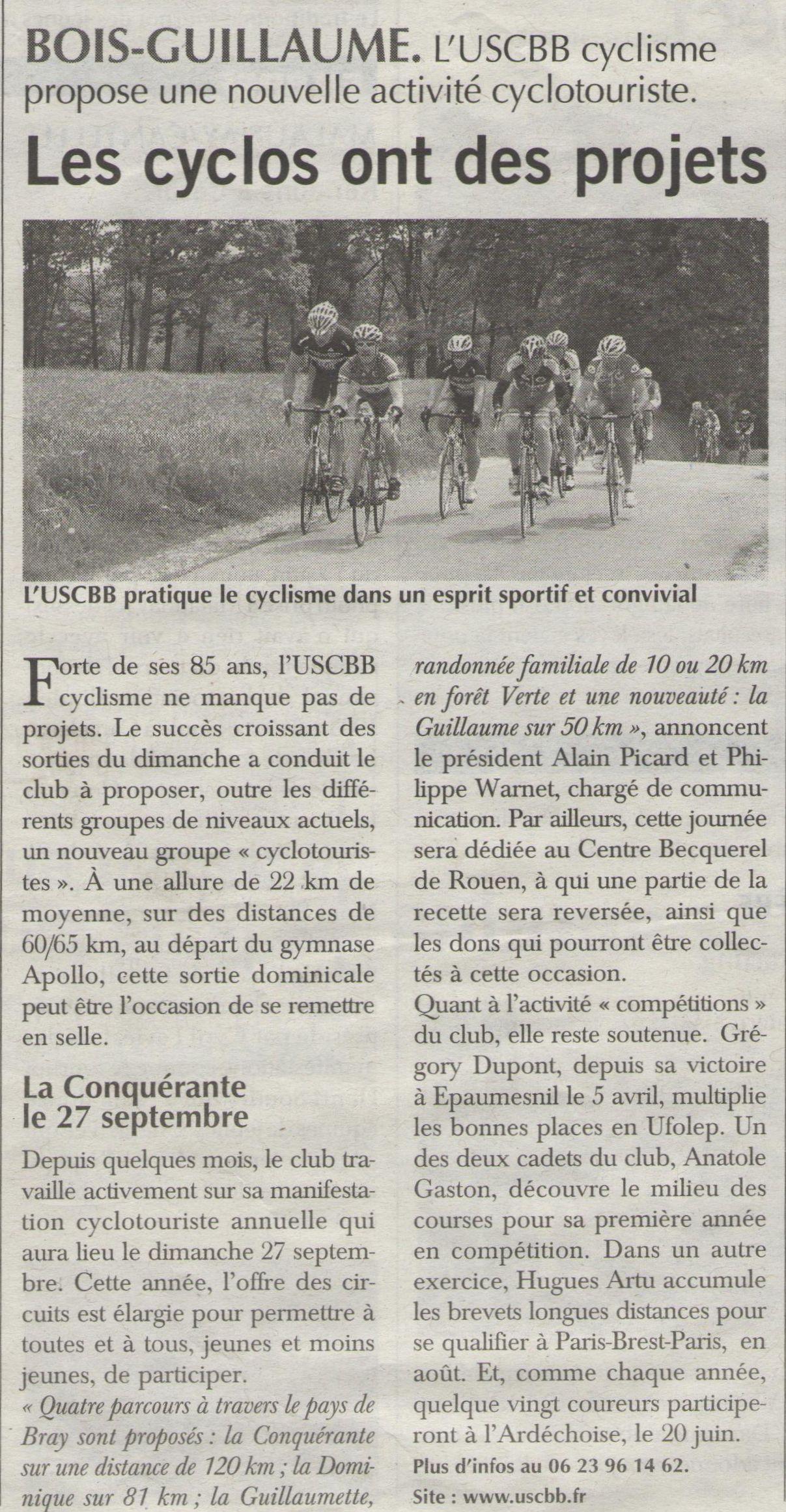 15 06 18 Paris Ndie USCBB Cyclisme