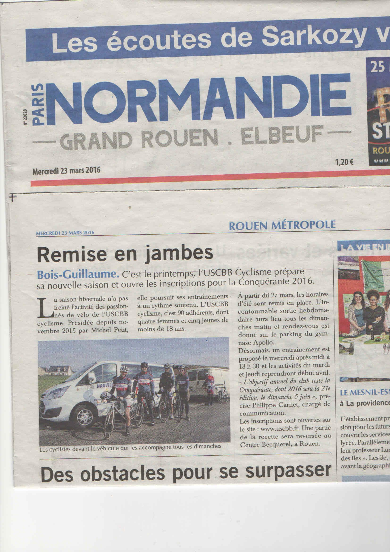 16 03 23 Paris Normandie